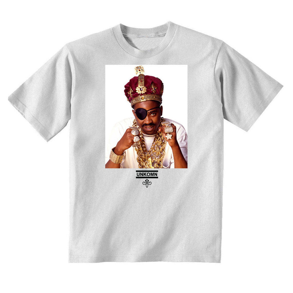 <!--2015022646-->UNKOMN (Slick Rick) - 'The Ruler' [(White) T-Shirt]