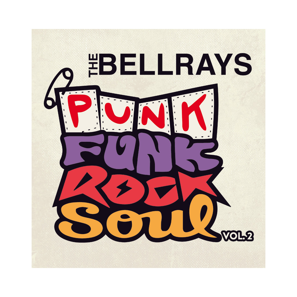 The BellRays - 'Punk Funk Rock Soul Vol. 2' [CD]