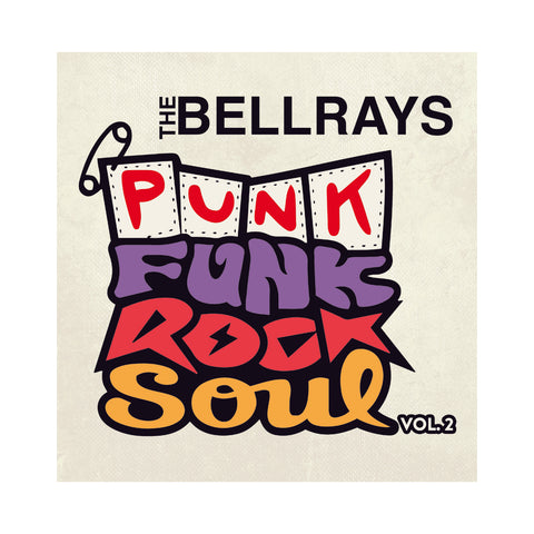 "[""The BellRays - 'Punk Funk Rock Soul Vol. 2' [(Black) Vinyl LP]""]"
