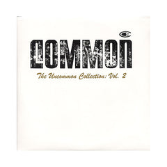 Common - 'The Uncommon Collection Vol. 2' [(Black) Vinyl [2LP]]