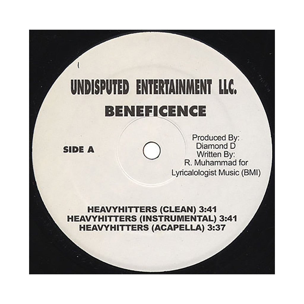 <!--2010111017-->Beneficence - 'Heavyhitters (INSTRUMENTAL)' [Streaming Audio]