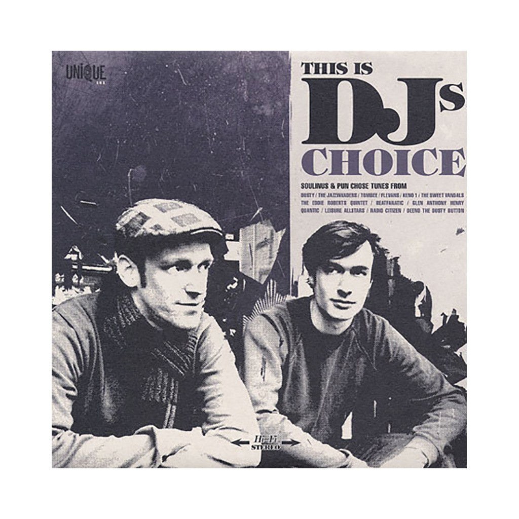 Various Artists (Compiled By: Soulinus & Pun) - 'This Is DJ's Choice Vol. 1' [CD]