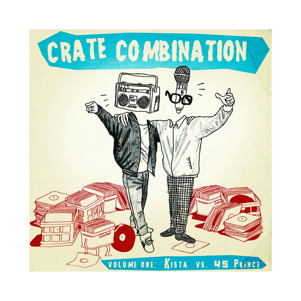 Crate Combination - 'Crate Combination Vol. 1: Kista vs. 45 Prince' [(Black) Vinyl [2LP]]