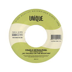 "<!--020120124039015-->Osaka Monaurail - 'No Trouble On The Mountain/ The Archipelago' [(Black) 7"" Vinyl Single]"