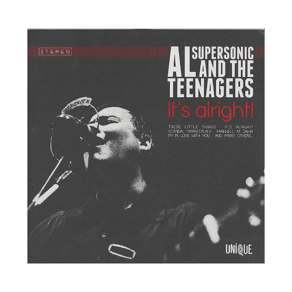 Al Supersonic & The Teenagers - 'It's Alright!' [(Black) Vinyl LP]