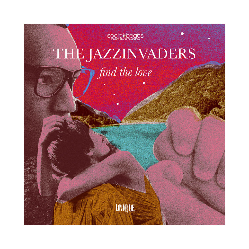 The Jazzinvaders - 'Find The Love' [CD]