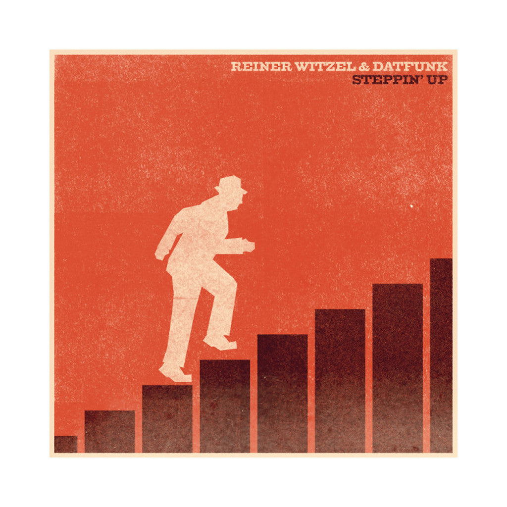 Reiner Witzel & Datfunk - 'Steppin' Up' [CD]