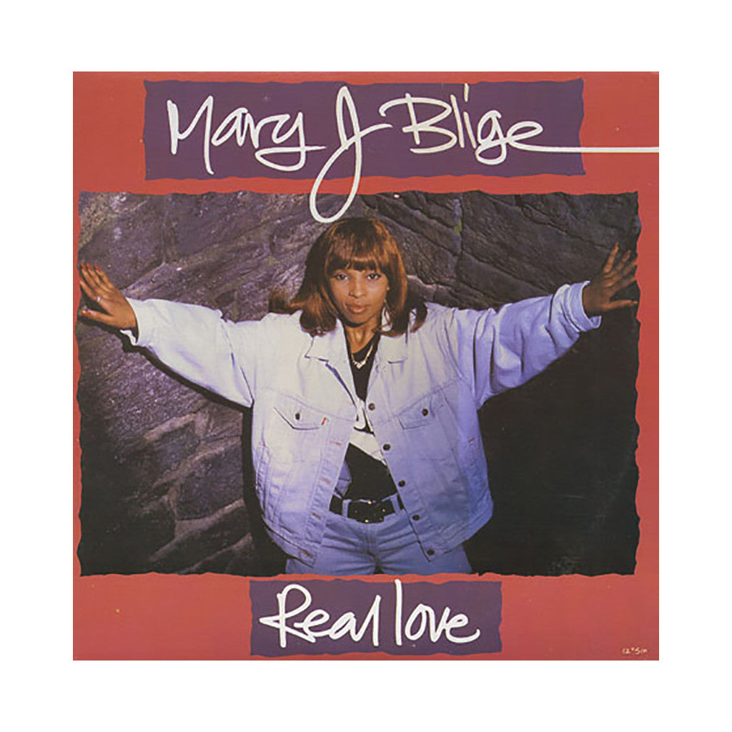"<!--019920101010696-->Mary J. Blige - 'Real Love (Remix)/ Real Love' [(Black) 12"""" Vinyl Single]"