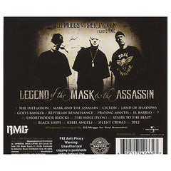 DJ Muggs vs. Sick Jacken w/ Cynic - 'Legend Of The Mask Of The Assassin' [CD]