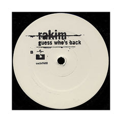 "<!--019970101013516-->Rakim - 'Guess Who's Back/ It's Been A Long Time/ Guess Who's Back (Remix)' [(Black) 12"" Vinyl Single]"