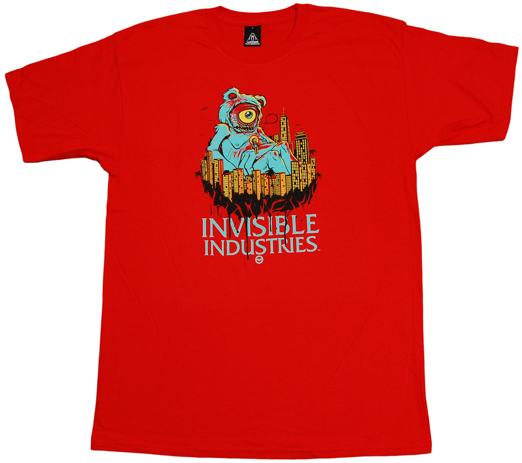 Upper Playground x Invisible Industries - 'Unity Monster' [(Red) T-Shirt]