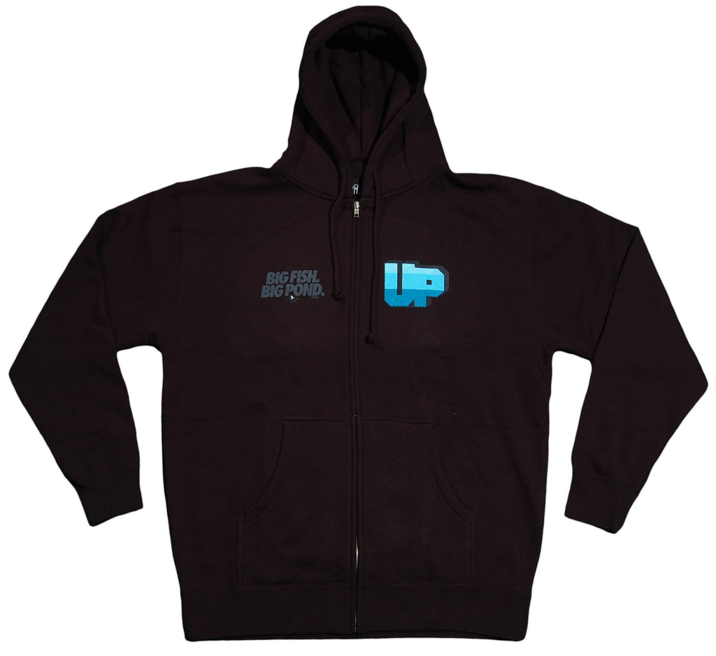 <!--2012061907-->Upper Playground - 'Golden Gate Shark' [(Black) Hooded Sweatshirt]