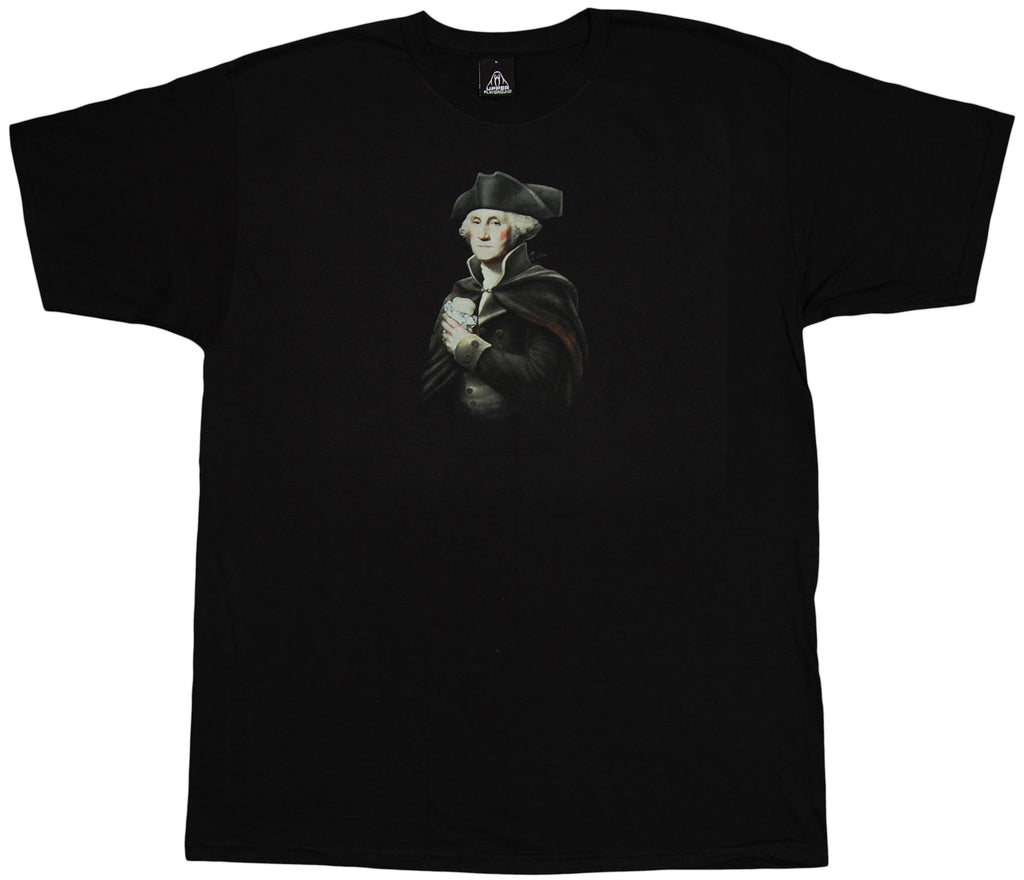 <!--2011091352-->Upper Playground - 'Presidential Burrito' [(Black) T-Shirt]