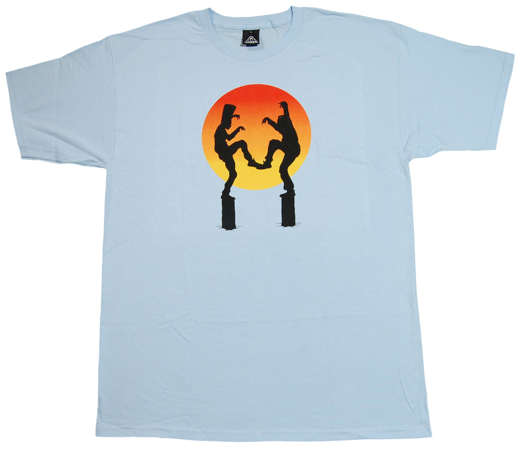 <!--2013032656-->Upper Playground - 'Kid 'N Crane' [(Light Blue) T-Shirt]