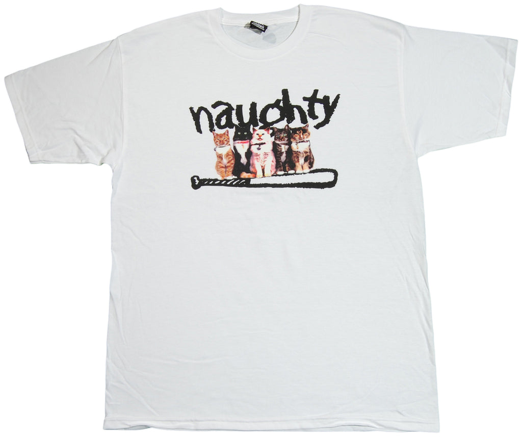 Upper Playground - 'Naughty Cats' [(White) T-Shirt]