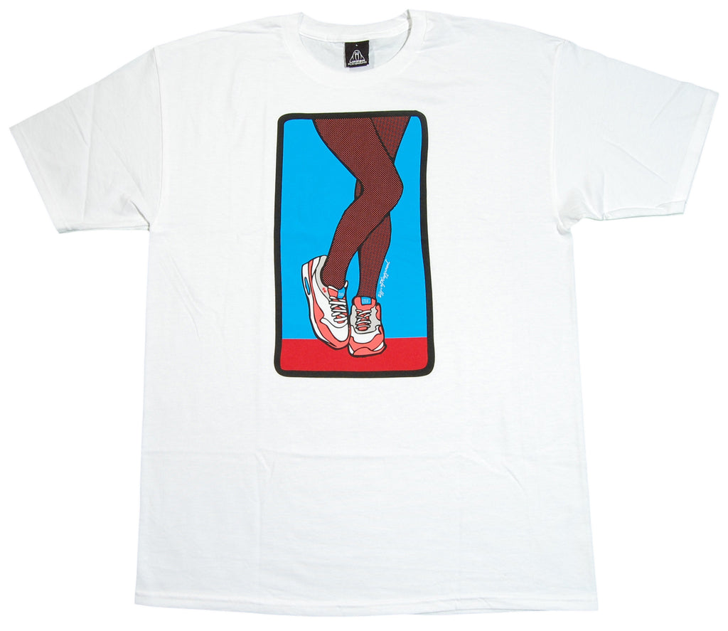 Upper Playground - 'Legs' [(White) T-Shirt]
