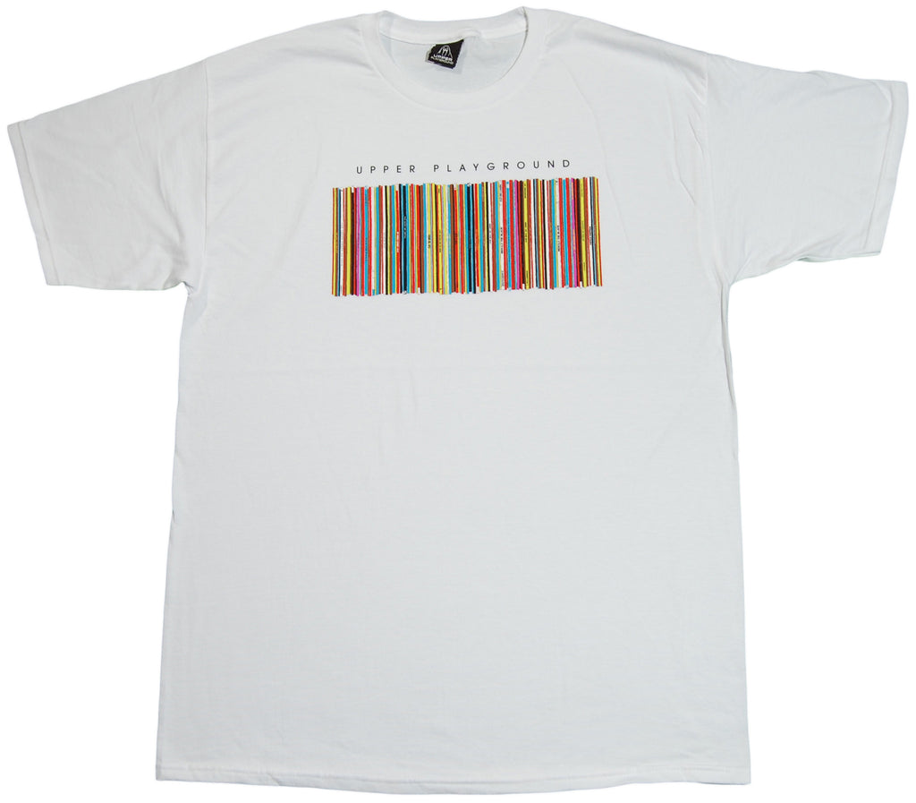 <!--2011091304-->Upper Playground - 'Vinyl Shelf' [(White) T-Shirt]