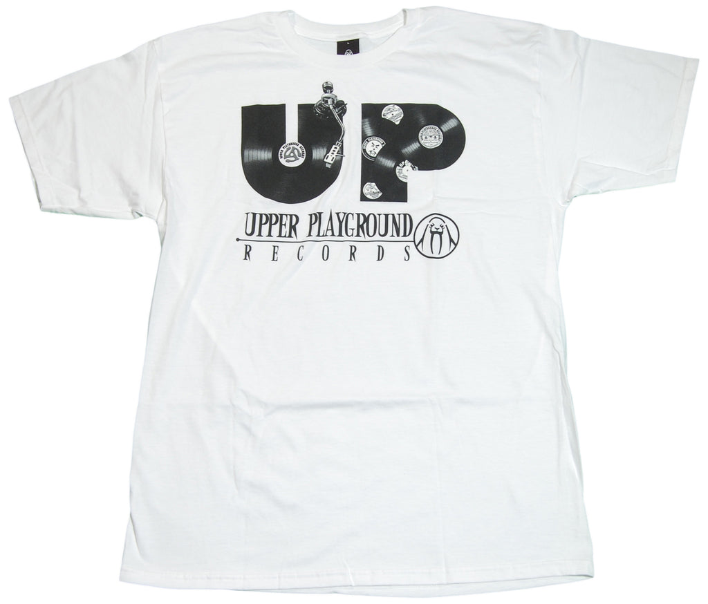 <!--2011041934-->Upper Playground - 'Records' [(White) T-Shirt]
