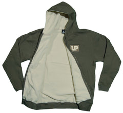 <!--2012011041-->Upper Playground - 'Public Sherpa Hood' [(Dark Green) Hooded Sweatshirt]