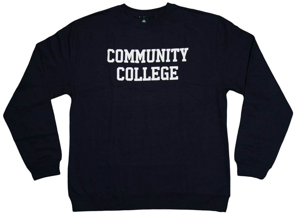 <!--2012011008-->Upper Playground - 'Community College' [(Dark Blue) Crewneck Sweatshirt]