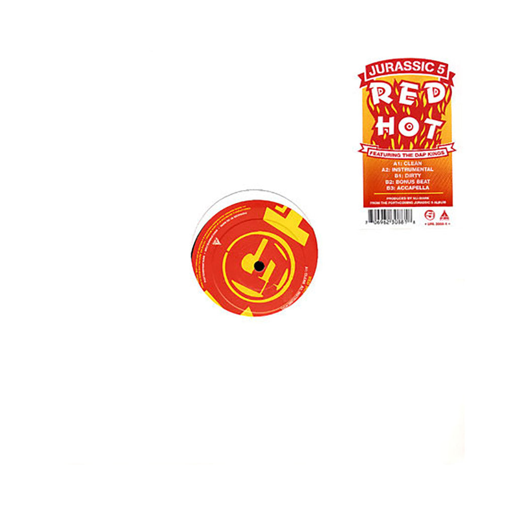 "<!--2005091327-->Jurassic 5 - 'Red Hot' [(Black) 12"" Vinyl Single]"