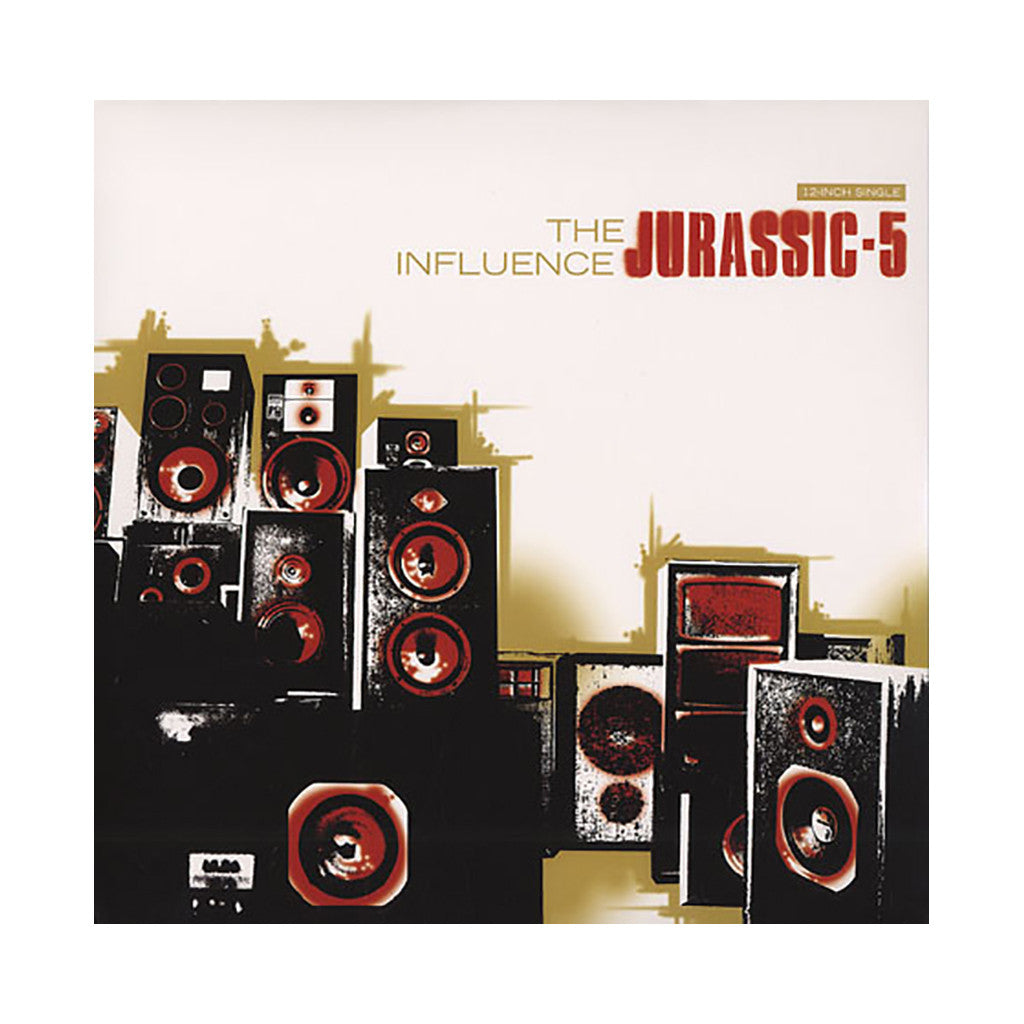 "<!--020070626007450-->Jurassic 5 - 'The Influence/ Swing Set/ Quality Outro' [(Black) 12"" Vinyl Single]"