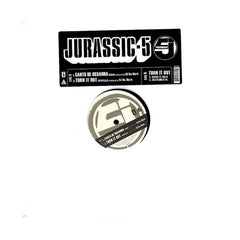 "Jurassic 5 - 'Canto De Ossanha/ Turn It Out' [(Black) 12"" Vinyl Single]"
