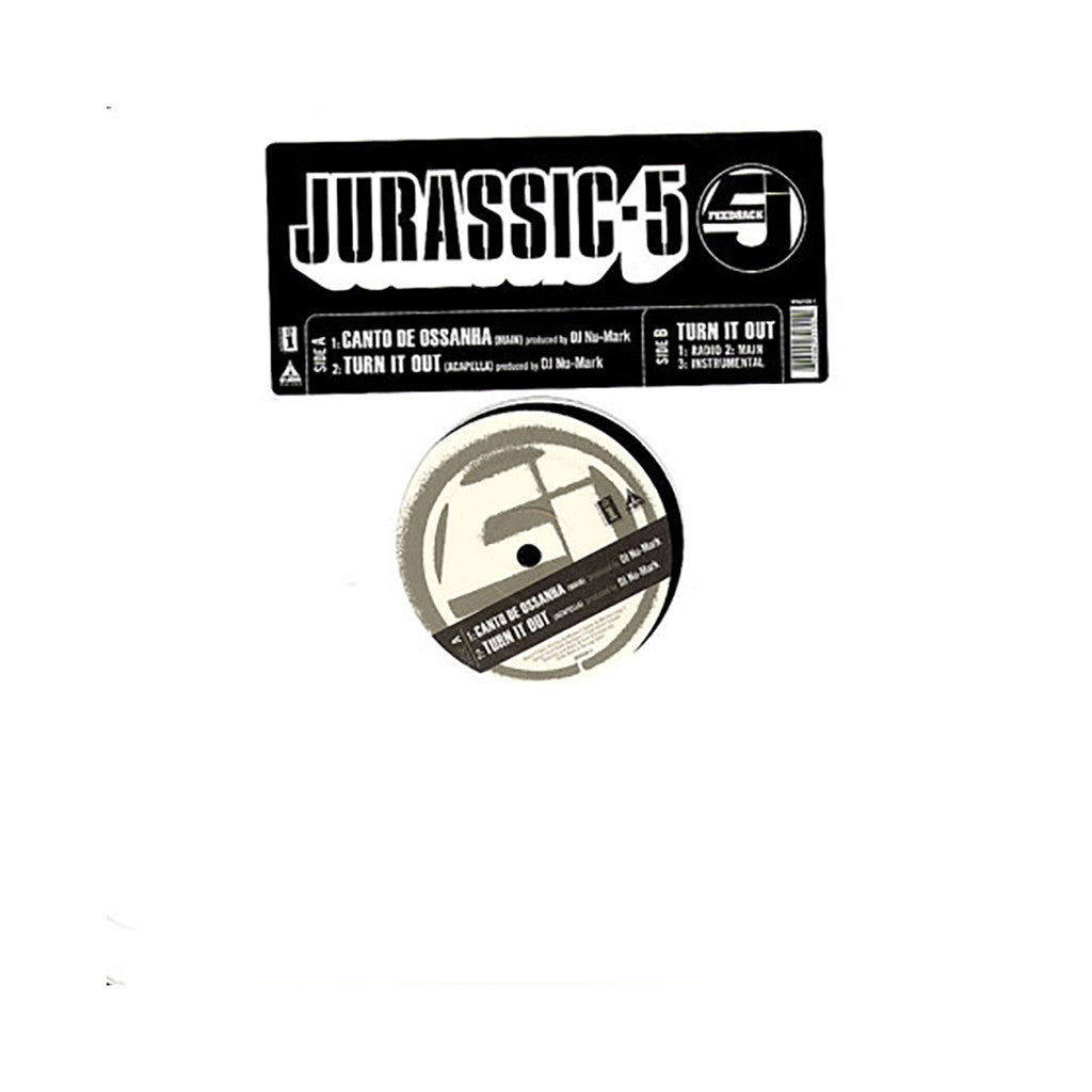 <!--2006090640-->Jurassic 5 - 'Canto De Ossanha' [Streaming Audio]