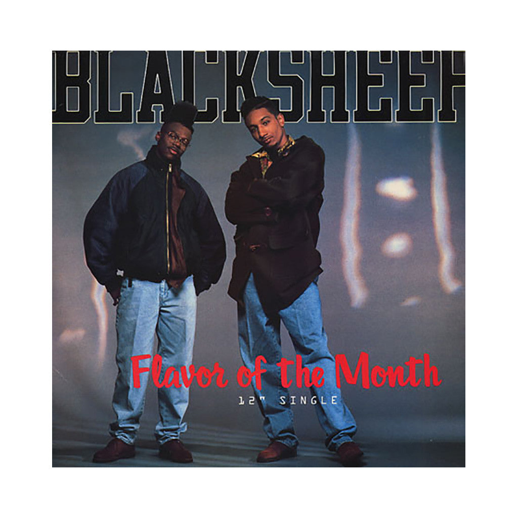 "Black Sheep - 'Flavor Of The Month/ Butt... In The Meantime/ Butt... In The Meantime (Remix)' [(Black) 12"" Vinyl Single]"