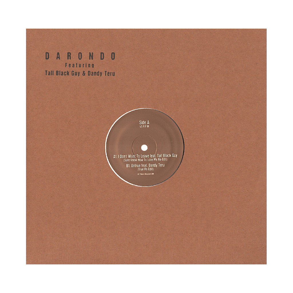 "<!--2013031254-->Darondo - 'Luv N Haight Edit Series Vol. 5' [(Clear) 12"" Vinyl Single]"