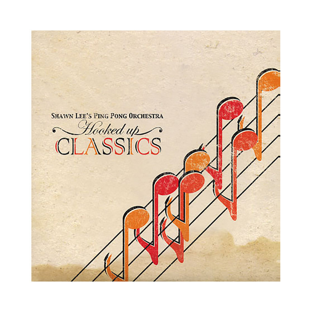 Shawn Lee's Ping Pong Orchestra - 'Hooked Up Classics' [(Black) Vinyl LP]