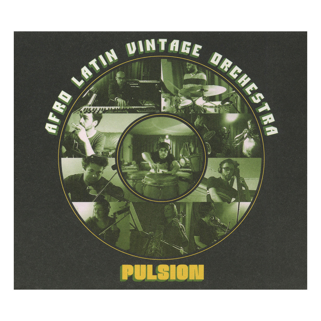 <!--120140916064756-->Afro Latin Vintage Orchestra - 'Pulsion' [CD]