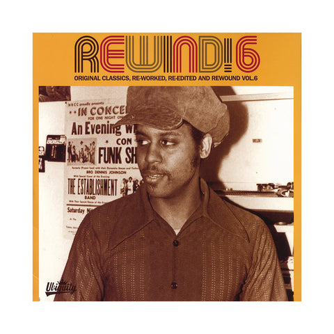 Various Artists - 'Rewind! 6: Original Classics, Re-Worked, Re-Edited And Rewound' [(Black) Vinyl [2LP]]