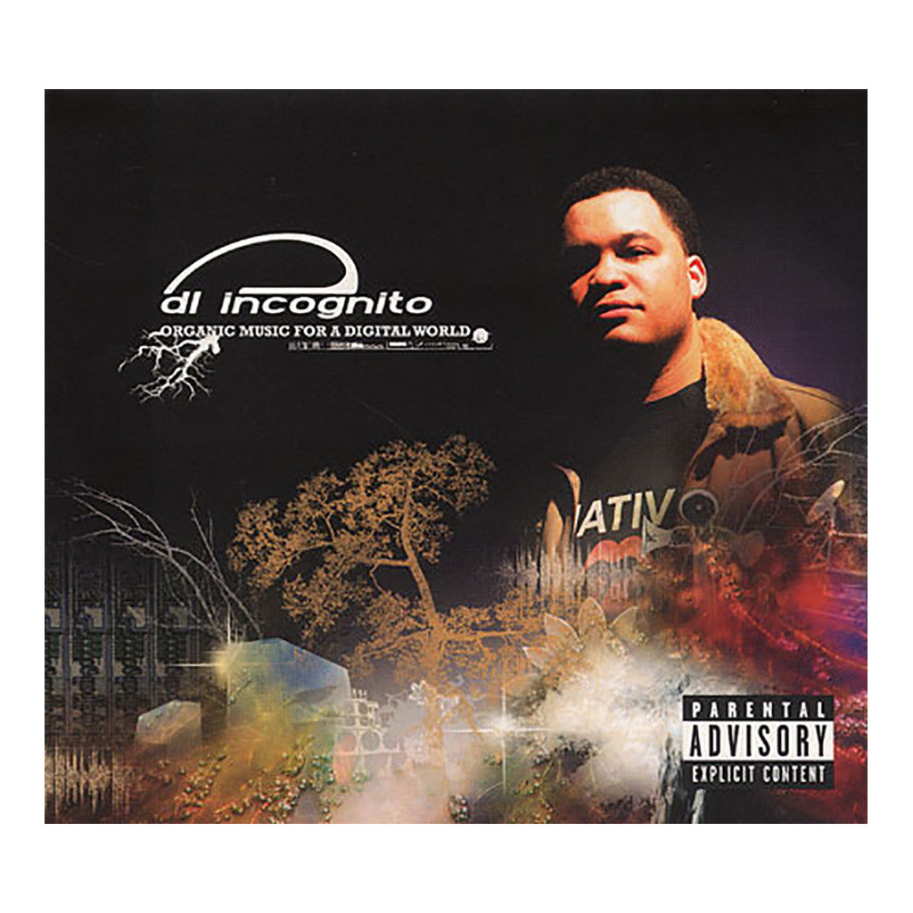 DL Incognito - 'Organic Music For A Digital World' [CD]