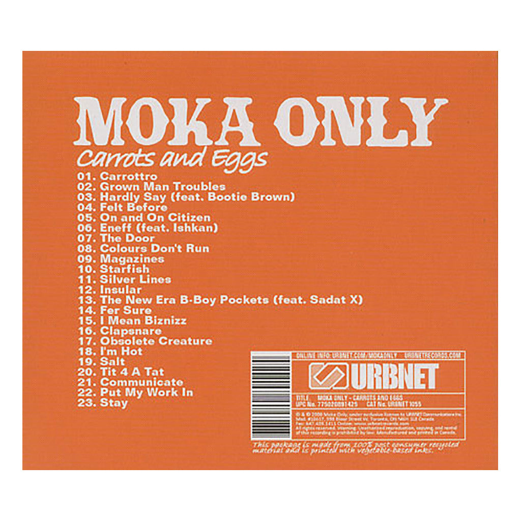 <!--2008102841-->Moka Only - 'Carrots And Eggs' [CD]