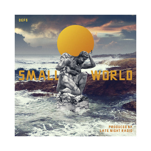"[""Def 3 - 'Small World' [(Black) Vinyl LP]""]"