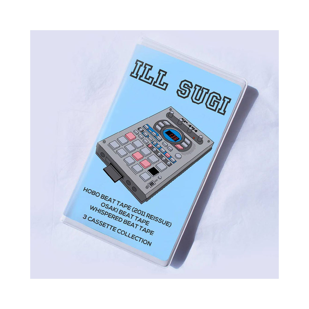 Ill Sugi - 'Hobo Beat Tape/ Osaki Beat Tape/ Whispered Beat Tape' [Cassette Tape]