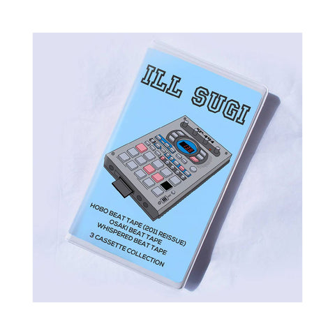 "[""Ill Sugi - 'Hobo Beat Tape/ Osaki Beat Tape/ Whispered Beat Tape' [Cassette Tape]""]"