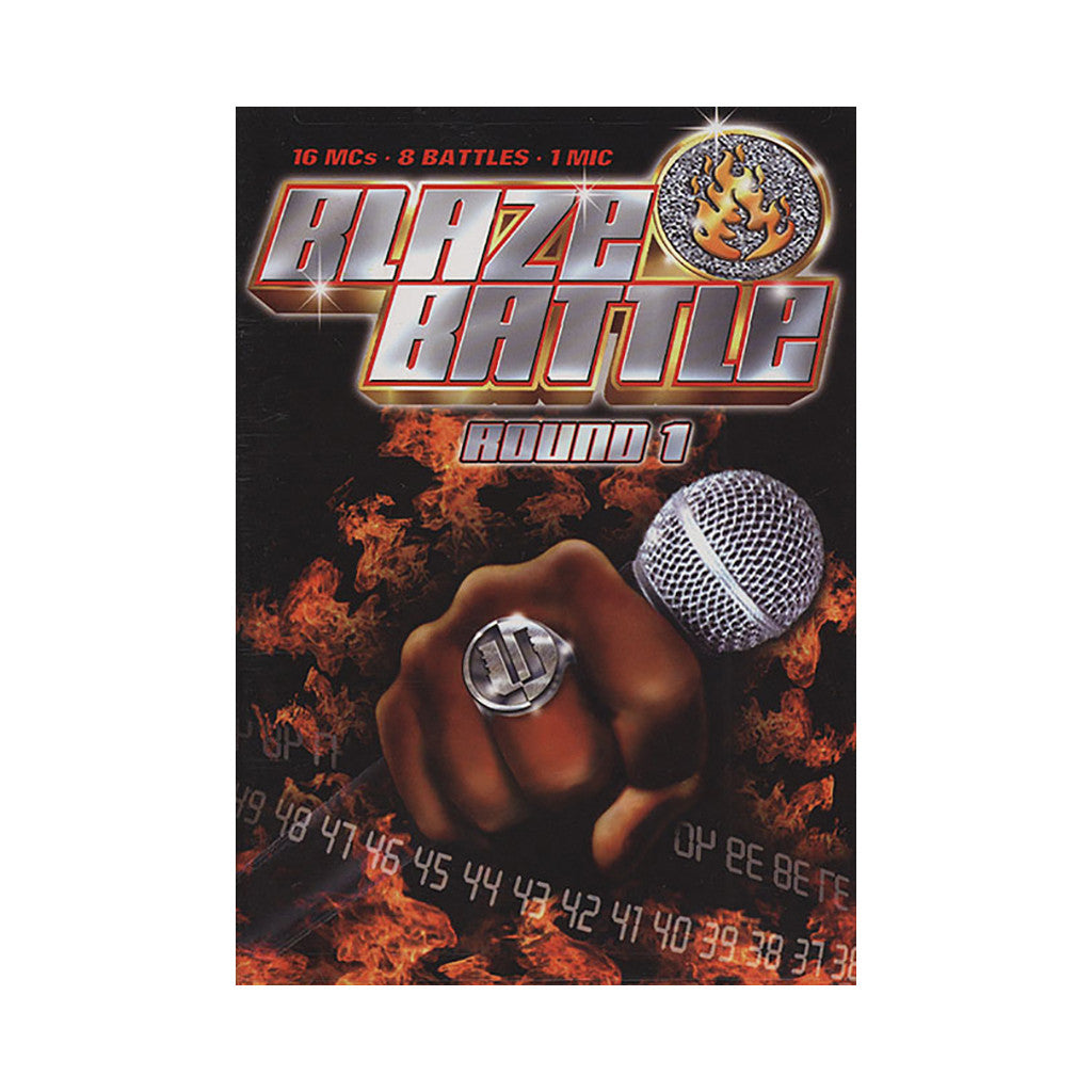 <!--020040622004467-->Blaze Battle - 'Round 1' [DVD]