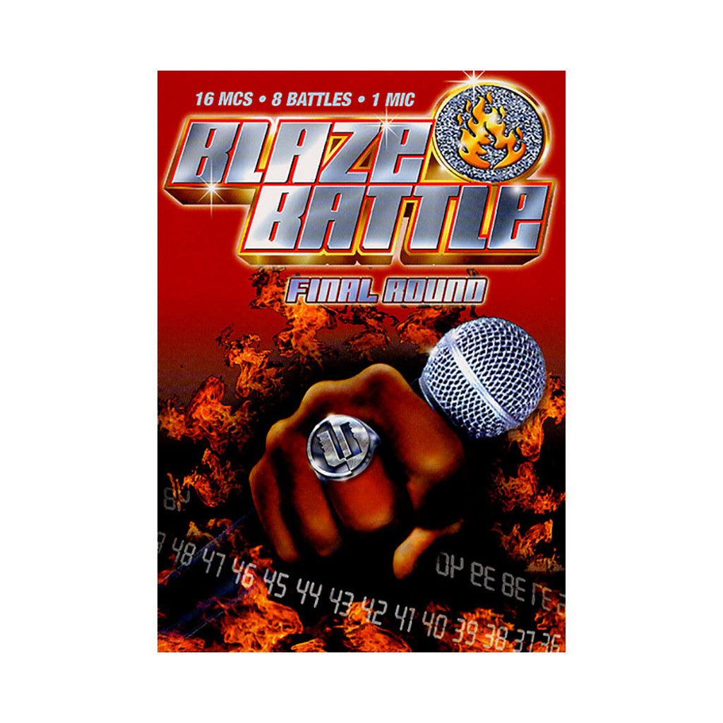 <!--020050101006449-->Blaze Battle - 'Final Round' [DVD]