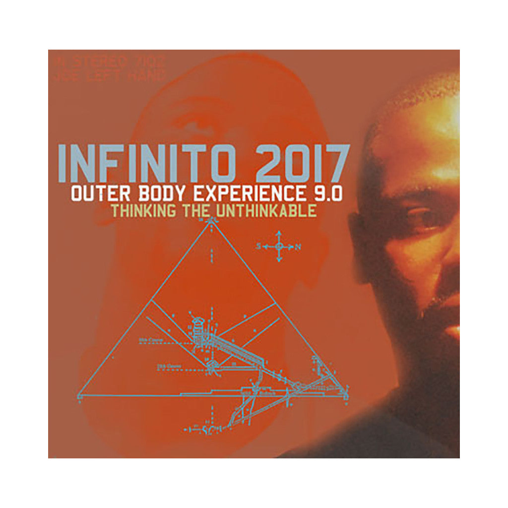Infinito:2017 - 'Outer Body Experience 9.0 (Thinking The Unthinkable)' [(Black) Vinyl EP]