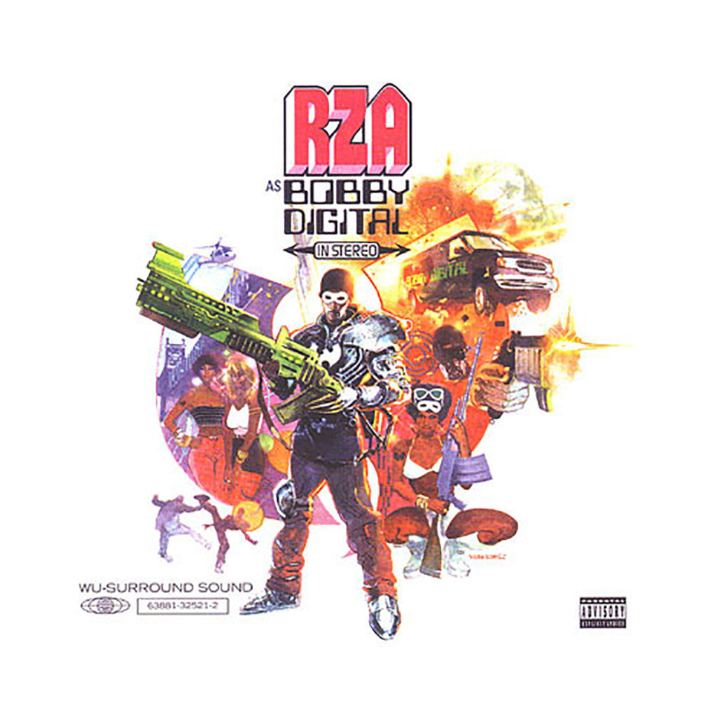 <!--119981124016653-->Bobby Digital - 'Rza As Bobby Digital In Stereo' [CD]