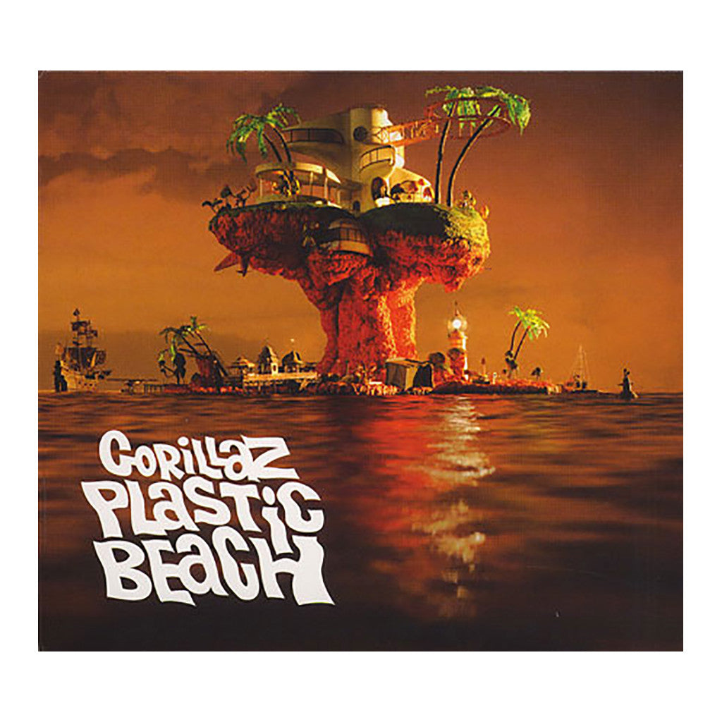 Gorillaz - 'Plastic Beach' [CD]