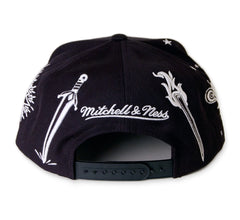 <!--020140117062191-->Mitchell & Ness x NBA - 'NBA All-Star 2014, New Orleans - Good Fort' [(Black) Snap Back Hat]