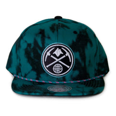 <!--020140708064691-->Mitchell & Ness x NBA - 'Denver Nuggets - Greenback' [(Light Green) Snap Back Hat]