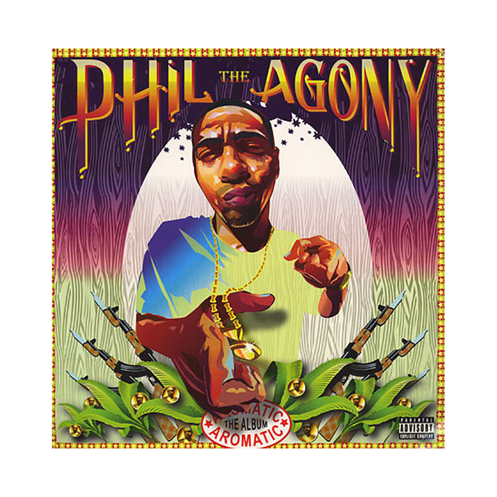Phil The Agony - 'The Aromatic Album' [(Black) Vinyl [2LP]]