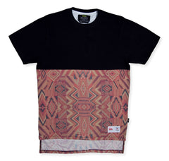 <!--2014100253-->Vandal Collective - 'Nations Navajo Half' [(Black) T-Shirt]