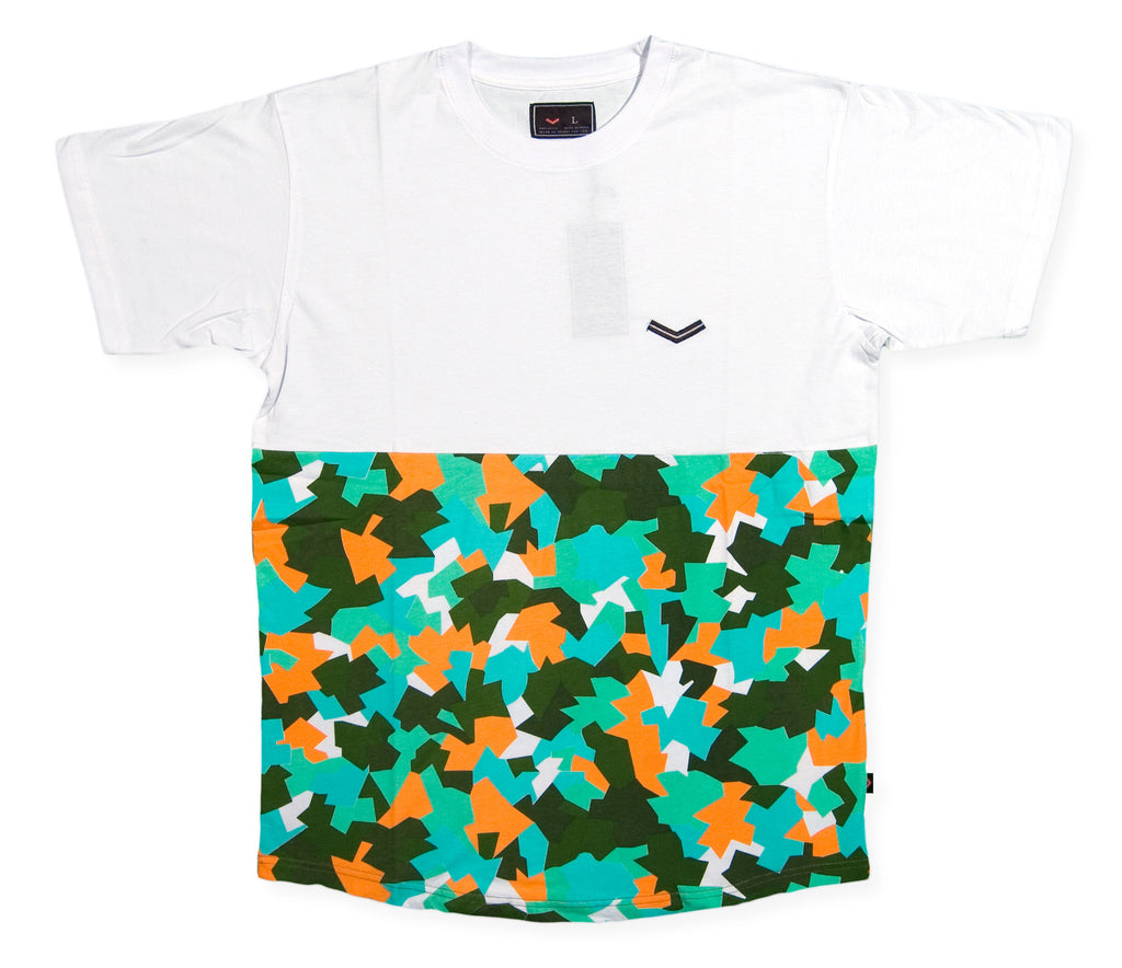 <!--2013120545-->Vandal Collective - '80's Camo Half' [(White) T-Shirt]