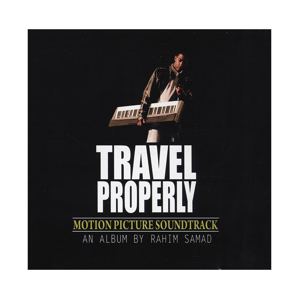 <!--120140513064459-->Rahim Samad - 'Travel Properly Motion Picture Soundtrack' [CD]