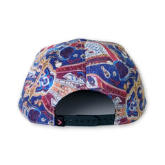 <!--020140318062896-->Vandal Collective - 'Mosaic Paisley' [(Multi-Color) Snap Back Hat]
